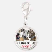 Grey Lives Matter Too ADOPT! Charms