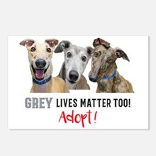 Grey Lives Matter Too ADO Postcards (Package of 8)