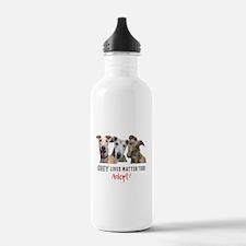Grey Lives Matter Too Water Bottle