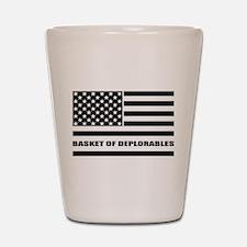 Basket of Deplorables Shot Glass