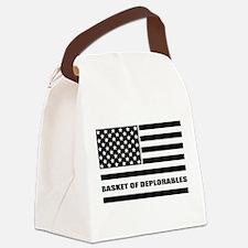 Basket of Deplorables Canvas Lunch Bag