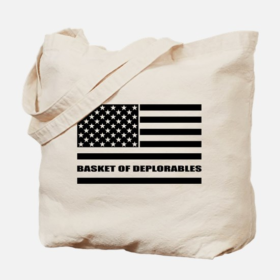 Basket of Deplorables Tote Bag