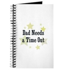 Dad Needs a Time Out Journal