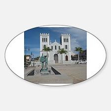 Unique Isabela Sticker (Oval)