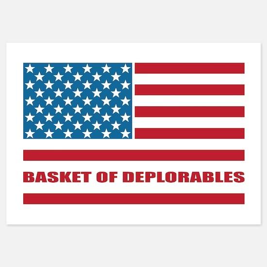 Basket of Deplorables Invitations