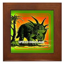 retro art!'s SPIKED DINO Framed Tile