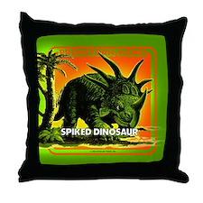 retro art!'s SPIKED DINO Throw Pillow