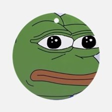 Just Pepe Round Ornament