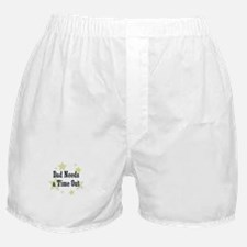 Dad Needs a Time Out Boxer Shorts