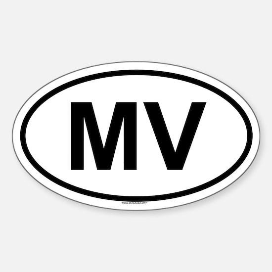 MV Oval Decal