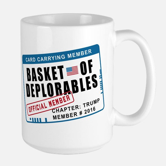 Basket of Deplorables Large Mug