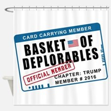 Basket of Deplorables Shower Curtain