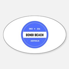 Cute To beach Sticker (Oval)