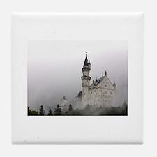 Sleeping Beauty's Castle Tile Coaster