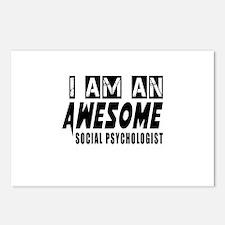 I Am Social psychologist Postcards (Package of 8)