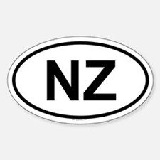 NZ Oval Decal