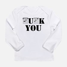 f chord uck you guitar tabs mu Long Sleeve T-Shirt