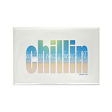 Cute Chillin Rectangle Magnet