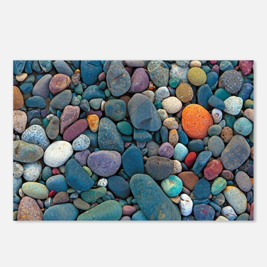 Beach Rocks 2 Postcards (Package of 8)