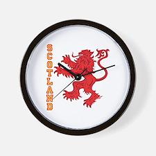 Lion R Scotland Wall Clock