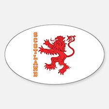 Lion R Scotland Sticker (Oval)