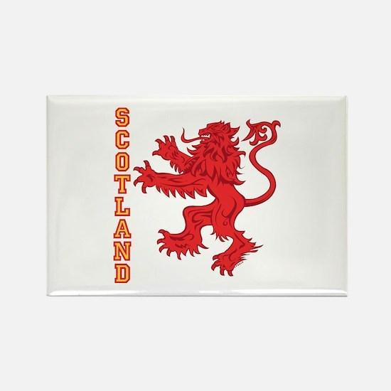 Lion R Scotland Rectangle Magnet