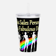 SALES PERSON Acrylic Double-wall Tumbler