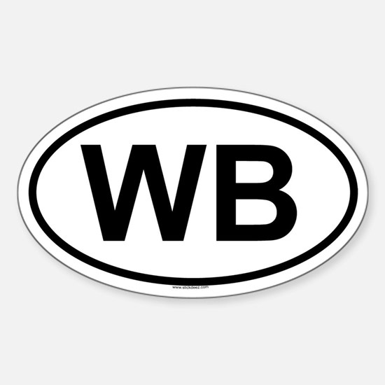 WB Oval Decal