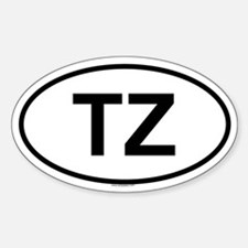 TZ Oval Decal