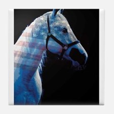American Paint Horse Tile Coaster