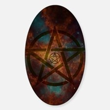 Supernatural spiritual Sticker (Oval)