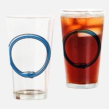 Cute Ouroboros Drinking Glass