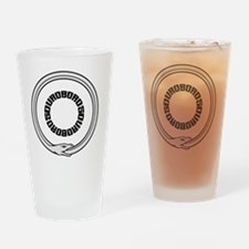Cool Ouroboros Drinking Glass