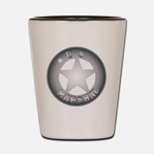 Law and order Shot Glass