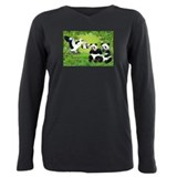 Panda Long Sleeve T Shirts