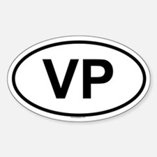 VP Oval Decal