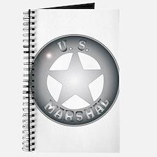 US Marshal Badge Journal
