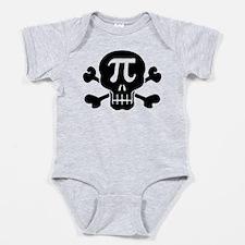 Funny I love teaching math Baby Bodysuit