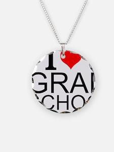 I Love Grad School Necklace