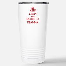Cute Deanna Travel Mug