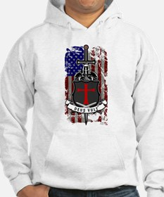 AMERICAN KNIGHT GOD WILLS IT Hoodie