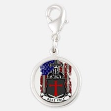 AMERICAN KNIGHT GOD WILLS IT Charms
