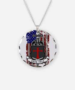 AMERICAN KNIGHT GOD WILLS IT Necklace