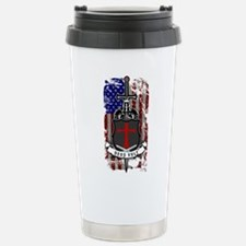AMERICAN KNIGHT GOD WIL Travel Mug