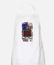AMERICAN KNIGHT GOD WILLS IT Apron