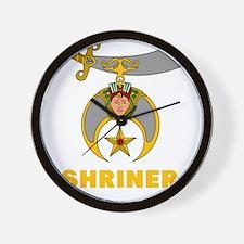 SHRINER Wall Clock