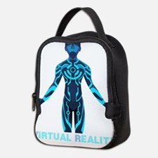 VIRTUAL REALITY VR Neoprene Lunch Bag