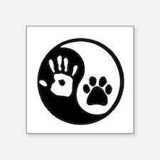 Yin Yang Hand & Paw Sticker