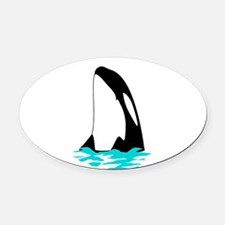 ORCA Oval Car Magnet