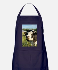 curious cow, 2 Apron (dark)